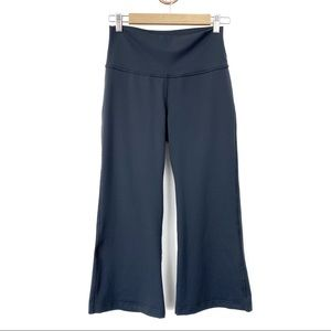 Lululemon Blue/Gray Cropped Wide Leg Pants Size 8